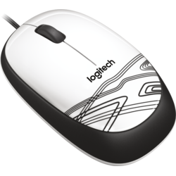 Mouse cu fir Logitech M105, WHITE