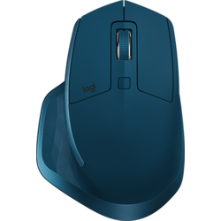 Mouse Bluetooth Logitech MX Master 2S, MIDNIGHT TEAL