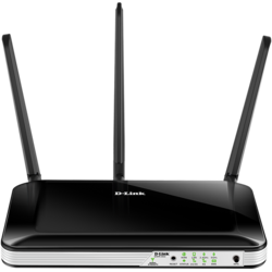 D-Link Router Wireless AC750 4G LTE, Multi-WAN Router, integrated modem, SIM card slot