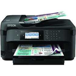 Multifunctionala Epson WorkForce Pro WF-7710DWF, Inkjet, Color, Format A3+, Fax, Retea, Wi-Fi, Duplex