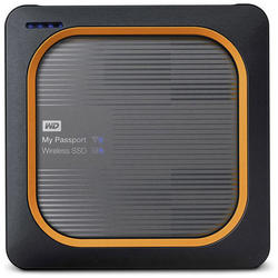 Western Digital HDD Extern My Passport Wireless SSD 2TB Silver