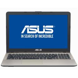 Laptop ASUS 15.6'' X541NA, HD,  Intel Celeron Dual Core N3350 , 4GB, 128GB SSD, GMA HD 500, Endless OS, Chocolate Black, no ODD
