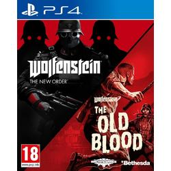 WOLFENSTEIN THE NEW ORDER & WOLFENSTEIN THE OLD BLOOD PACK - PS4
