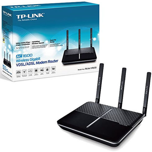 Router Wireless Vdsl2/adsl2+ Ac1600, 4xgigalan, 2xusb