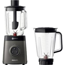 Philips Blender Avance Collection HR3657/90, 2 l, 1400 W, negru/metalic