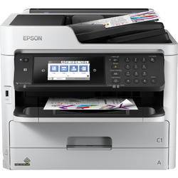 Multifunctionala Epson WorkForce Pro WF-C5710DWF, Inkjet, Color, Format A4, Fax, Retea, Wi-Fi, Duplex