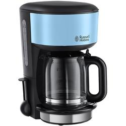 Russell Hobbs Cafetiera Colours Plus Heavenly Blue 20136-56, 1000 W, 1.25 l, 10 cesti, albastru/negru