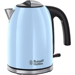 Russell Hobbs Fierbator Colours Plus Heavenly Blue 20417-70, 2400 W, 1.7 l, albastru
