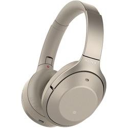 Casti Sony WH-1000XM2N, Noise canceling, Hi-Res, Bluetooth, NFC, Wireless, Auriu