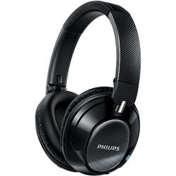 Casti PHILIPS SHB9850NC/00, wireless, noise canceling, Negru