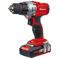 Einhell Masina de gaurit si insurubat fara fir Power X-Change TE-CD 18/2 Li Kit, 18 V, 2x1,5 Ah, 44 Nm