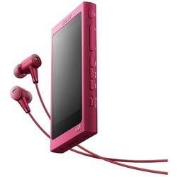 Sony MP4 Player Walkman NWA35HNP, High Resolution Audio, Ecran tactil, Bluetooth, NFC, Wireless, FLAC, 16GB, Casti, Roz