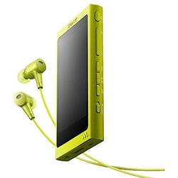 Sony MP4 Player Walkman NWA35HNY, High Resolution Audio, Ecran tactil, Bluetooth, NFC, Wireless, FLAC, 16GB, Casti, Galben