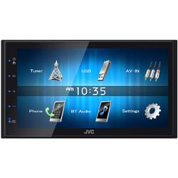 JVC Multimedia Player auto KW-M24BT, 6.8 inch, Bluetooth, MOS-FET 50W x 4