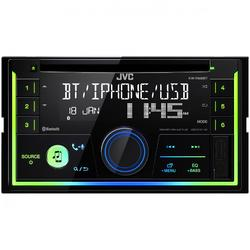 JVC Radio CD auto KW-R930BT, 2DIN, 4x50W, USB, AUX, Bluetooth, Subwoofer control, Culori variabile