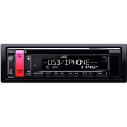 Radio CD auto JVC KD-R691, 4 x 50W, USB, AUX, Subwoofer control, Accent key variable colors