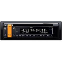 Radio CD auto JVC KD-R491, 4 x 50W, USB, AUX, Subwoofer control, Accent key variable colors