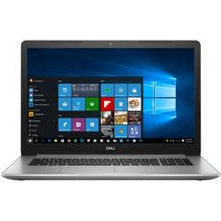 Laptop DELL 17.3'' Inspiron 5770 (seria 5000), FHD, Intel Core i7-8550U , 16GB DDR4, 2TB + 256GB SSD, Radeon 530 4GB, Win 10 Home, Silver