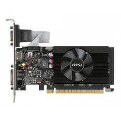 Placa video MSI GeForce GT 710 1GB DDR3 64-bit Low Profile