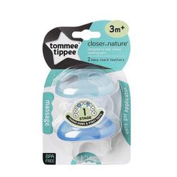 Tommee Tippee Closer to Nature Blue Gingival Ring Step 1