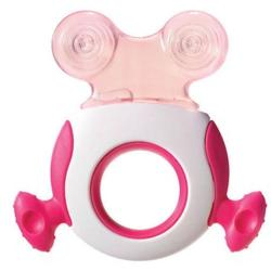 Tommee Tippee Closer to Nature Pink Gingival Ring Step 2
