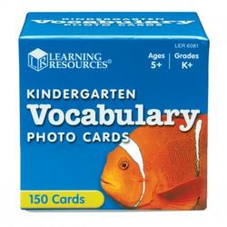 Learning Resources Vocabulary Photo Cards