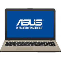 Laptop ASUS 15.6'' VivoBook 15 X540NA, HD, Intel Celeron N3350, 4GB, 500GB, GMA HD 500, Endless OS, Chocolate Black, no ODD