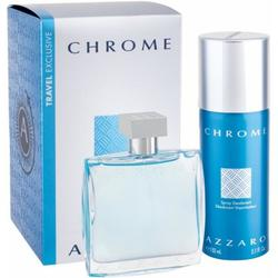 Azzaro Set cadou Chrome Eau de Toilette 100 ml + Deodorant Spray 150 ml