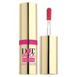 Pupa Lip gloss Dot Shock Balmy - Red 03