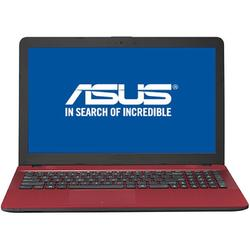 Laptop ASUS 15.6'' X541UV, HD, Intel Core i3-7100U, 4GB DDR4, 500GB, GeForce 920MX 2GB, Endless OS, Red, no ODD