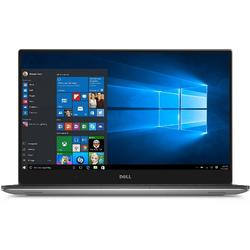 Ultrabook DELL 15.6'' New XPS 15 UHD Touch, InfinityEdge, Procesor Intel Core i5-7300HQ, 8GB DDR4, 256GB SSD, GeForce GTX 1050 4GB, Win 10 Pro, Silver, 3Yr NBD