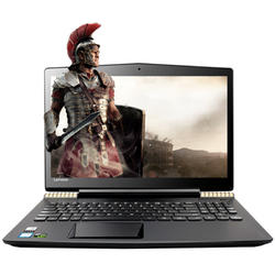 Laptop Lenovo Gaming 15.6'' Legion Y520, FHD IPS, Procesor Intel Core i5-7300HQ, 8GB DDR4, 256GB SSD, GeForce GTX 1050 Ti 4GB, FreeDos, Black-Gold, Backlit, 2Yr