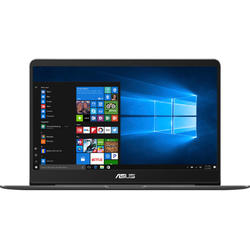 Ultrabook ASUS 14'' ZenBook UX430UN, FHD, Procesor Intel Core i7-8550U, 16GB, 256GB SSD, GeForce MX150 2GB, Win 10 Home, Grey