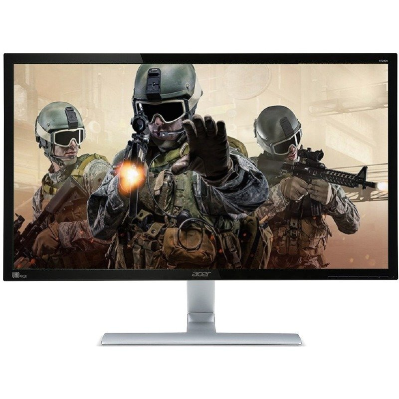 Monitor LED Acer Gaming RT280K 28 inch 4K 1 ms Black-Silver FreeSync