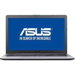 Laptop ASUS 15.6'' VivoBook 15 X542UA, FHD, Procesor Intel Core i5-8250U, 4GB DDR4, 256GB SSD, GMA UHD 620, No OS, Grey