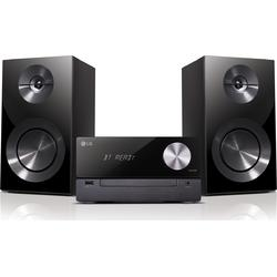 LG Sistem audio CM2460, 100 W, CD Player, USB, Bluetooth, Negru