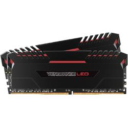 Memorie Corsair Vengeance Red LED 16GB DDR4 3200MHz CL16 Dual Channel Kit