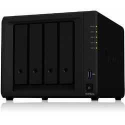 Synology NAS DS418play, 4-Bay SATA, Intel 2C 2,0 GHz, 2GB, 2xGbE LAN, 2xUSB 3.0