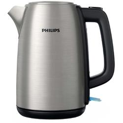 Fierbator Philips Daily Collection HD9351/91, 1850 W, 1.7 l, capac metalic, led indicator, inox