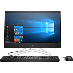 "Sistem All-in-One HP 200 G3 21.5"" LED FHD, Intel Core i3-8130u (2.2GHz, up to 3.4GHz, 4MB), Intel UHD Graphics, 4GB DDR4 (1x4GB), 256GB SSD, Win 10 Pro, negru"
