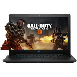 Laptop DELL Gaming 15.6'' G3 3579, FHD, Intel Core i7-8750H , 8GB DDR4, 256GB SSD, GeForce GTX 1050 Ti 4GB, Linux, Black