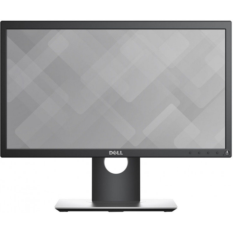 Monitor LED DELL P2018H 19.5 inch 5 ms Black