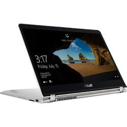 Laptop 2-in-1 ASUS 15.6'' ZenBook Flip UX561UA, FHD Touch, Procesor Intel® Core™ i7-8550U (8M Cache, up to 4.00 GHz), 8GB DDR4, 512GB SSD, GMA UHD 620, Win 10 Home, Silver