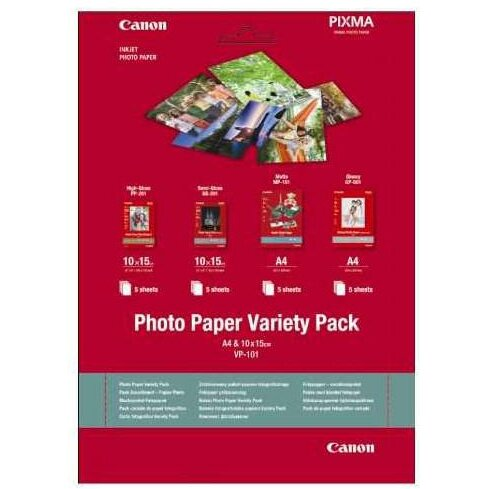 Hartie foto Canon VP-101S Variety Pack poza 2021