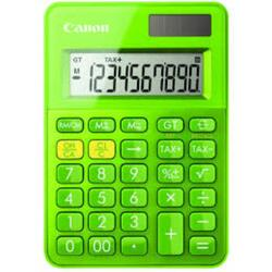 Calculator birou Canon LS100KMGR, 10 digiti, dual power, verde