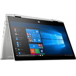 Laptop 2-in-1 HP 14'' ProBook x360 440 G1, FHD Touch, Procesor Intel® Core™ i5-8250U (6M Cache, up to 3.40 GHz), 8GB DDR4, 256GB SSD, GMA UHD 620, Win 10 Pro, Silver
