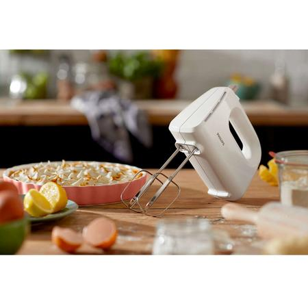 Mixer Philips Daily Collection HR3705/00, 300 W, 5 viteze, Turbo, alb