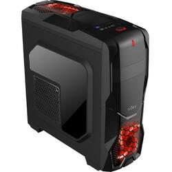 Njoy Carcasa Middle Tower ATX, Supernova, fara sursa, mATX, gaming desing