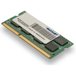 Patriot Memorie notebook SODIMM, DDR3, 4GB, 1600 Mhz