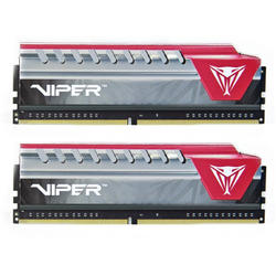 Patriot Memorie RAM DDR4, 8GB, 2400MHz, Viper Elite, Heatshield, kit 2x4GB